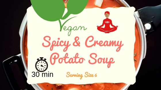 Spicy Creamy Potato Soup