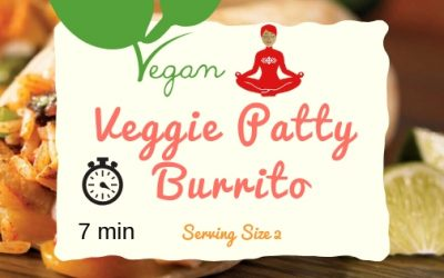 Veggie Patty Burrito