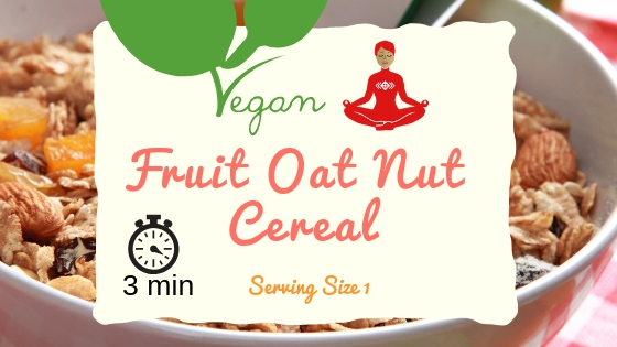Fruit Oat Nut Cereal