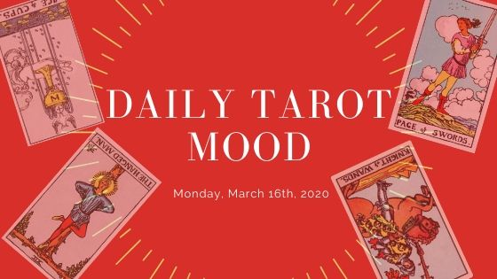 Daily Mood tarot monday