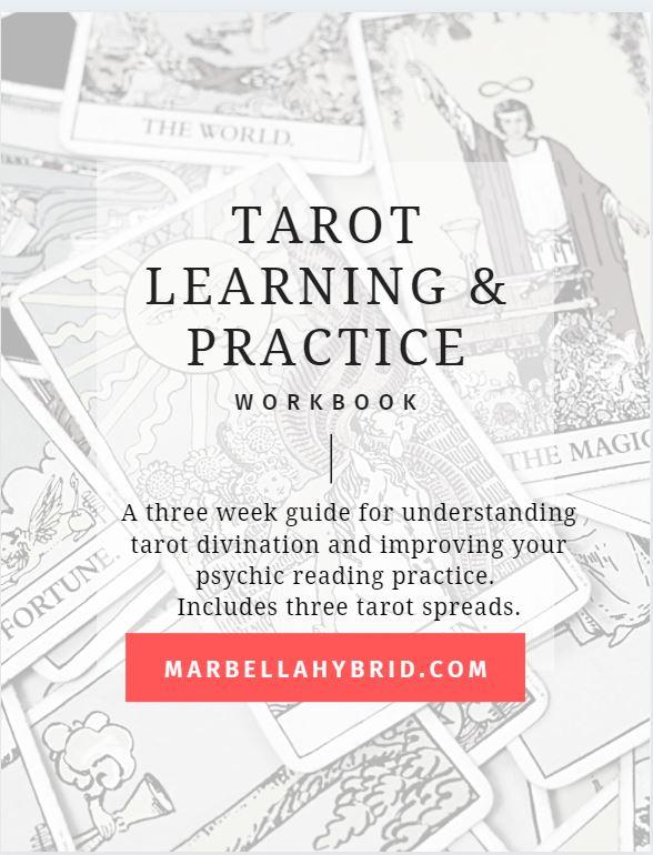 Tarot Learning Workbook